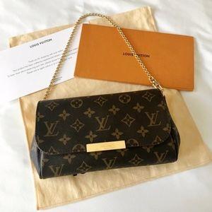 2019 RARE Louis Vuitton Monogram Favorite PM Bag